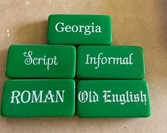 Double 6 Green Dominoes White Letters White Dots | PERSONALIZABLE Domino Set | Candy Green Bones