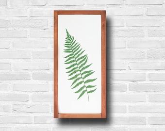 Tropical Leaves, Plant Prints, Fern Print, Fern Wall Art, Contemporary Art, Green Leaf, Boho Decor, Botanical Art, Fern Leaf Modern Art