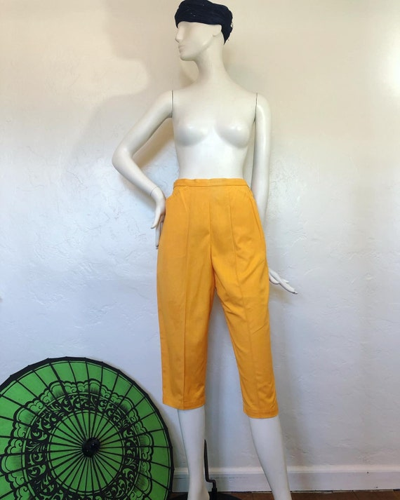 Magical Marigold Vintage NOS 1950's high waisted c