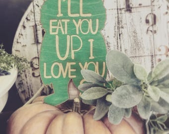 Where the Wild Things are.... I'll eat you up I love you so.  Wall decor