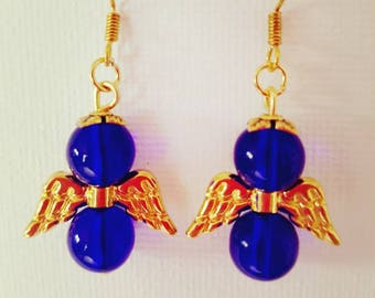 Blue Angel earring