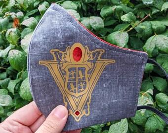 Volturi Face Mask, Volterra Italy, The Volturi, Twilight Inspired Face Mask, Twilight Saga
