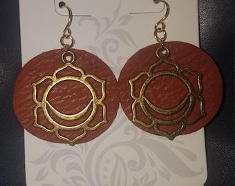 Sacral Chakra  earrings