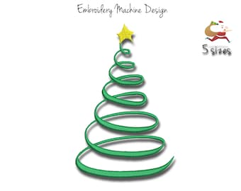 Design for Embroidery Machine Instant Download digital embroidering file stitch cartoon gift presents Xmas bow 330e Christmas Gifts