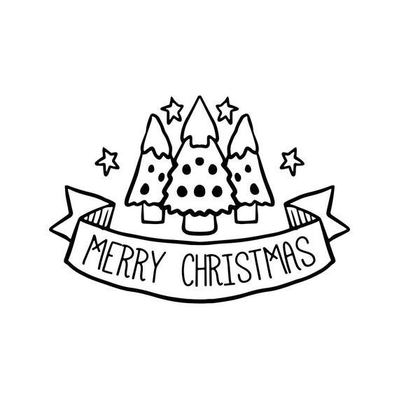 Merry Christmas Ornament Svg.Merry Christmas Ornament Tree Graphics Svg Dxf Eps Png Cdr Ai Pdf Vector Art Clipart Instant Download Digital Cut Print File Cricut