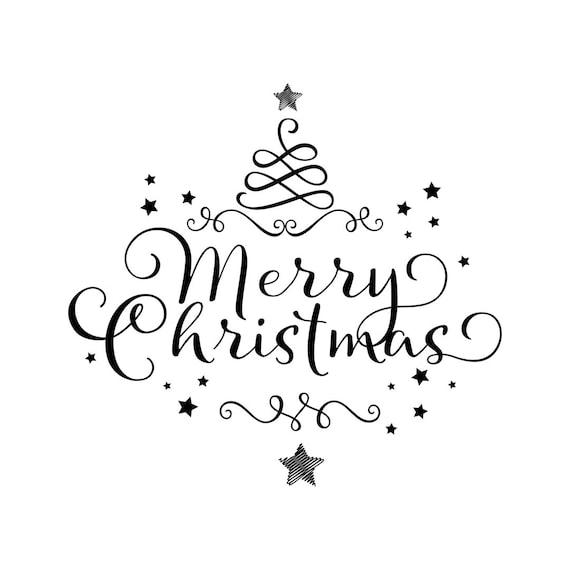 Stern Frohe Weihnachten.Frohe Weihnachten Ornament Baum Stern Grafiken Svg Dxf Eps Png Pdf Vektor Art Clipart Sofortigen Download Digital Geschnitten Print Datei Cricut Vinyl