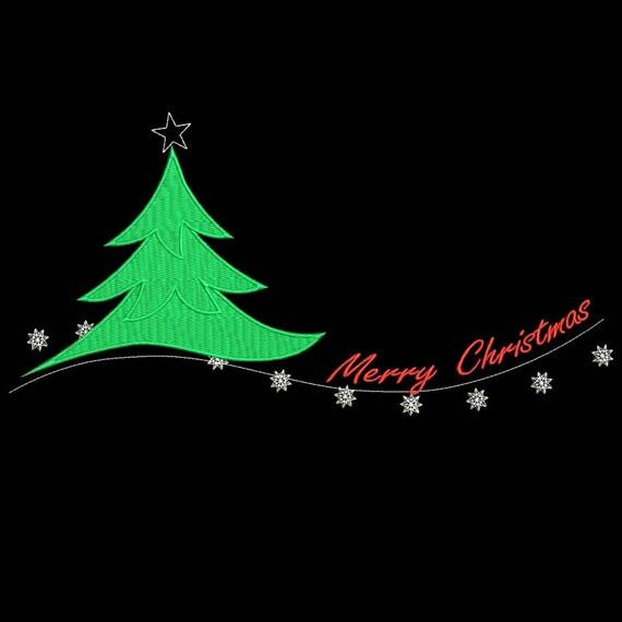 Frohe Weihnachten Philippinisch.Frohe Weihnachten Entwurfe Baum Motiv Sofortiger Digitaler Download Muster Geschenk Urlaub Pes Reifen Maschinenstickdatei