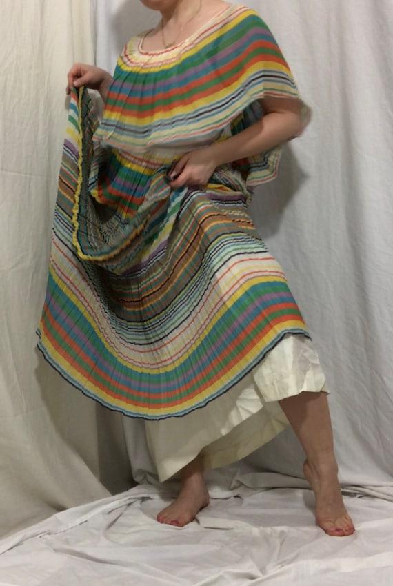 Miss Elliette California Cotton Rainbow Dress