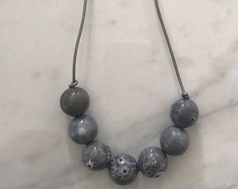 The Grey Pearl Necklace
