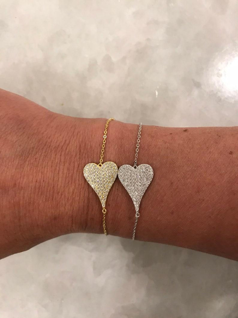 Silver Stunning Heart