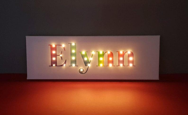 Nouvelles lettres lumineuses led pour façades de b timents