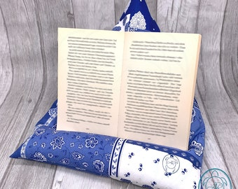 Reading pillow, tablet pillow, bookend, gift idea, product of Provence