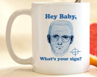 Zodiak Mug, Cults,  Serial Killers, Cult Leader Mug, Dark Humor Mug, Funny Coffee Mug