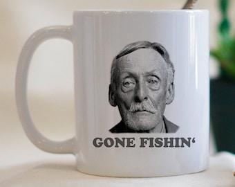 Gone Fishing Mug, Cults,  Serial Killers, Cult Leader Mug, Dark Humor Mug, Funny Coffee Mug