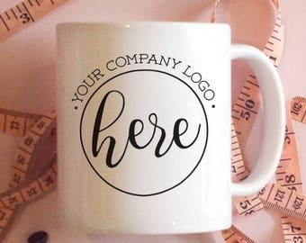 Customized Mug, Custom Coffee Mugs, Your Logo Here, Use Your Logo Mugs, Your Logo Water Bottle, Travel Mug, Camper Mug