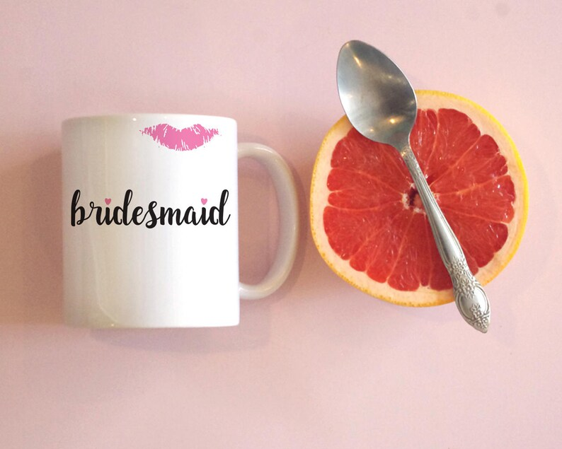 Bridesmaid Mug Bachelorette Party Bachelorette Party Favors image 0
