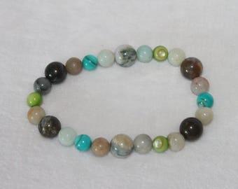Down To Earth • Beaded Bracelet • Yoga Bracelet • Stacking Bracelet • Jewelry • Gifts