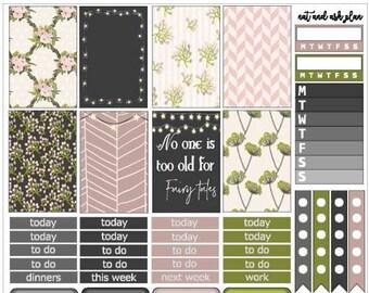 Flora | Weekly Printable Planner Kit
