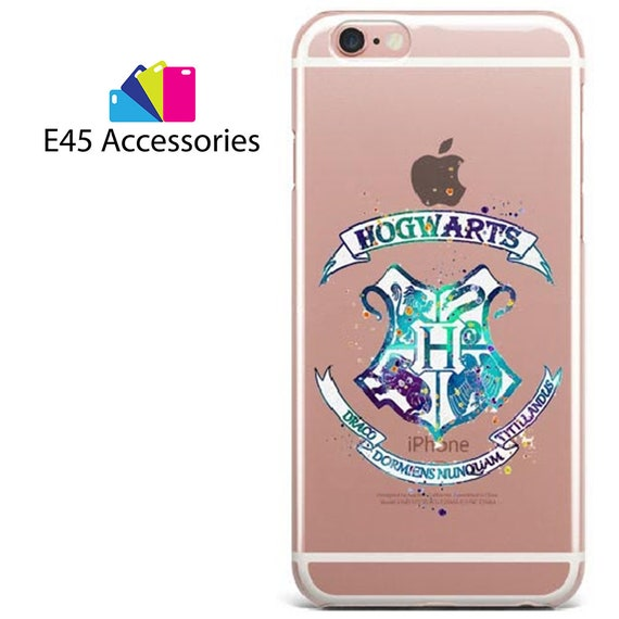 HOGWARTS Harry Potter Watercolour Hard Case for iPhone 5S 5 SE, iPhone 6S 6 or iPhone 7 8