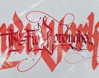 Five Boroughs NYC Calligraffiti Writing