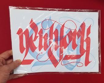 New York Calligraphy