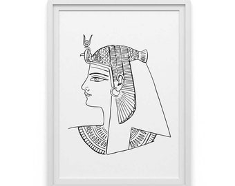 Egyptian art, egyptian print, egyptian gods, egyptian poster, ancient egyptian art, egypt wall art, ancient egyptian, instant download