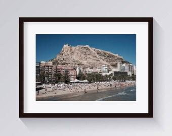 Mountain Print-Landscape Photography-Instant Download-Boho Decor Beach Wall Art, Arizona Poster, Southwest Print-Bohemian Prints-Beach Print