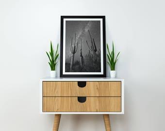 Cactus Print-Cacti Wall Art-Succulent Print-Digital Print-Instant Download-Cactus Poster-Large Cactus Print-Cactus Decor-Minimalist Print