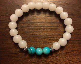 Boho distance bracelet