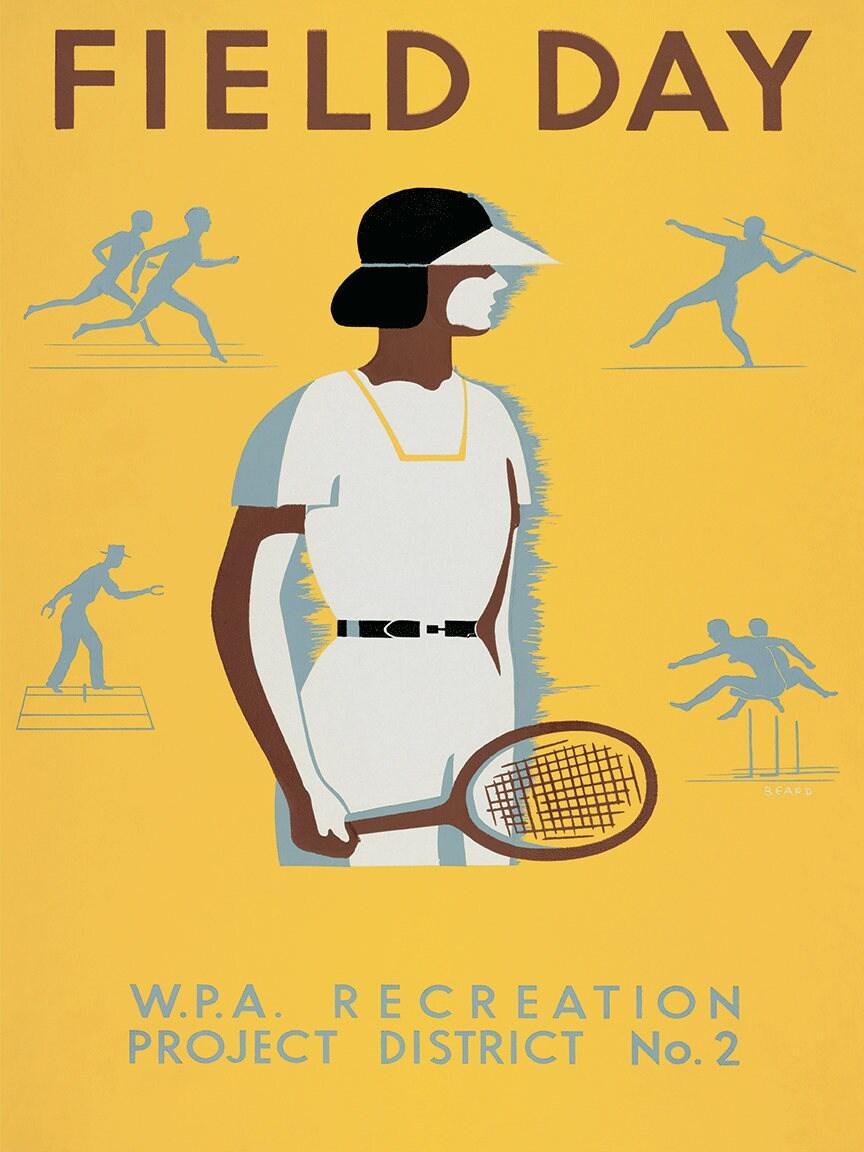 Tennis art tennis print Art Print poster sports wall art | Etsy