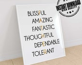 Items similar to Dad quotes, dad print, dad wall art, daddy ...