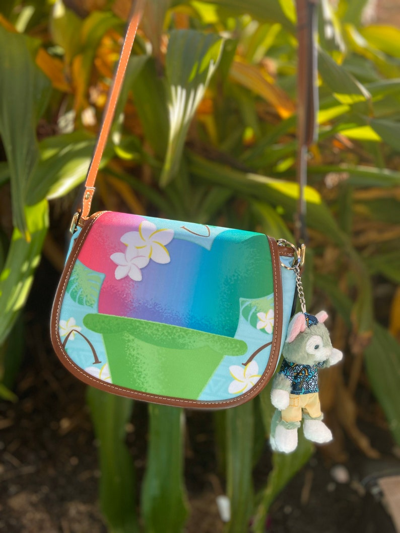 Shaved Ice Mouse Crossbody Bag Purse