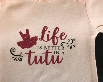 60288523f2 Life is better in a Tutu Onesie