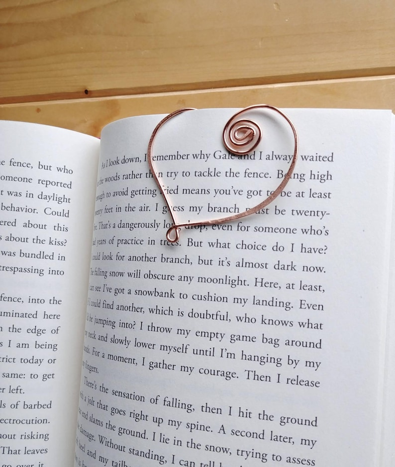 Heart Gift Heart Bookmark - valentijngeschenken voor boekenliefhebbers