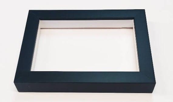 Shadowbox Gallery Wood Frame Black 4x6 5x7 6x6 8x8 8x10 | Etsy