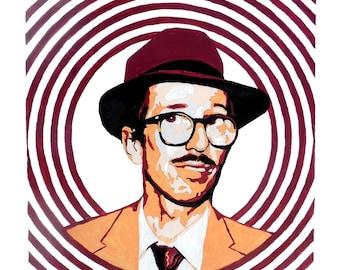 Robert Crumb Pop Art Painting