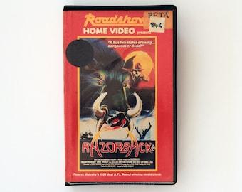 Betamax Tape - Razorback - Very Rare Cult Horror