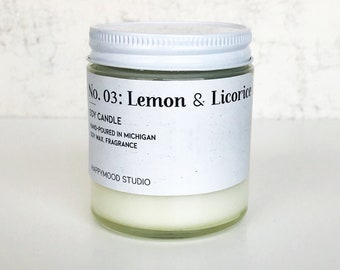 No 3. Lemon & Licorice / Fruity / Mini