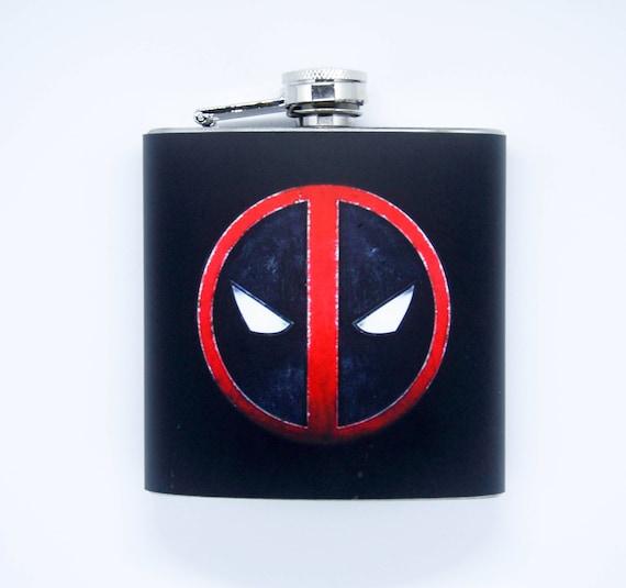 Flask Black Wrap Stainless Steel 6 Oz Screw Cap Hip Pocket Liquor Whiskey