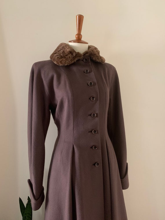 1940s Princess Coat by Jaunty Juniors / Small