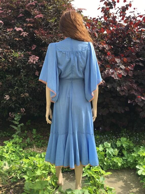 Layaway available - Rare 1970s Biba Dress with An… - image 6