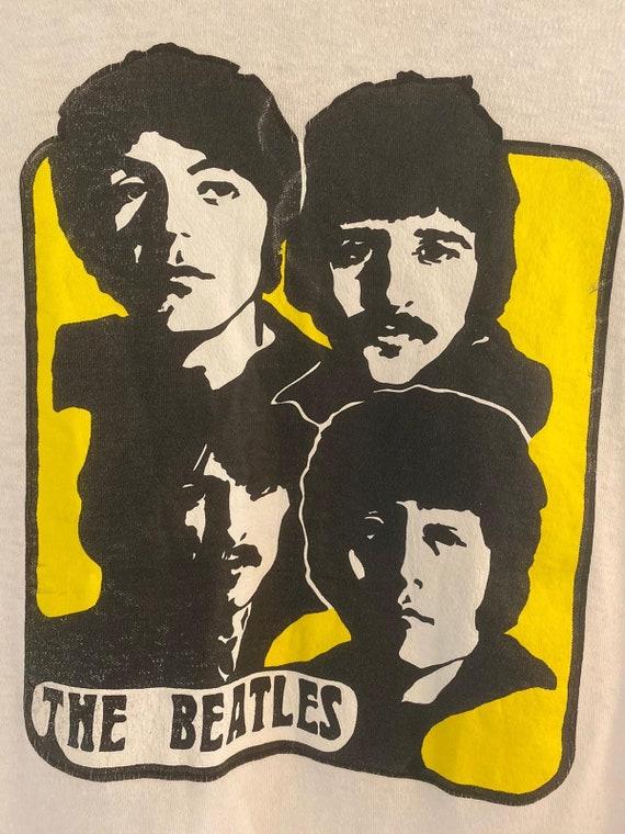 1970s Vintage The Beatles T Shirt