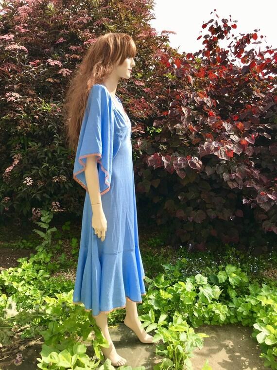 Layaway available - Rare 1970s Biba Dress with An… - image 8