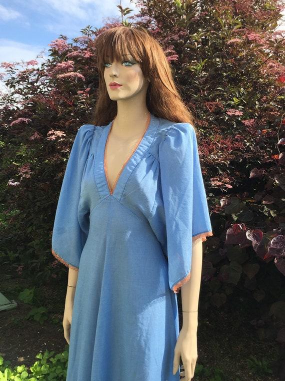 Layaway available - Rare 1970s Biba Dress with An… - image 5