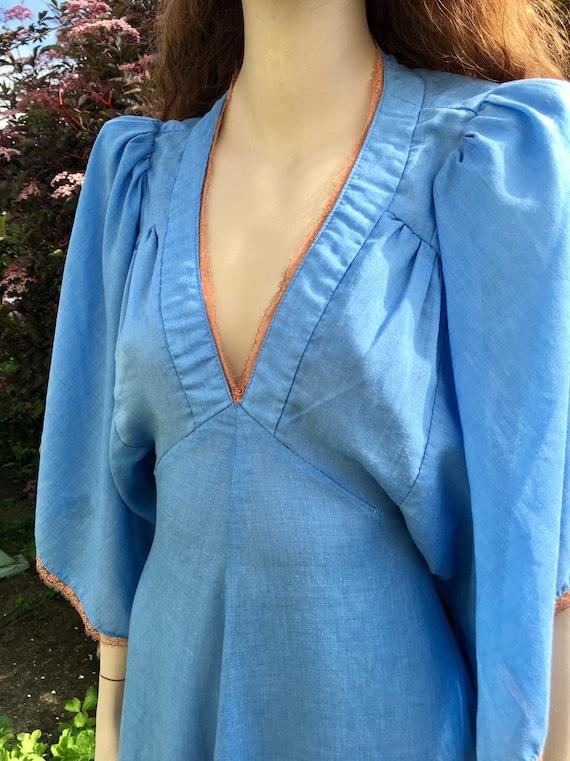 Layaway available - Rare 1970s Biba Dress with An… - image 7