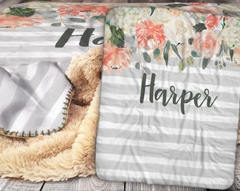 Personalized Blanket Etsy