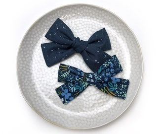 Pinwheel hair bow cotton or chiffon   bow arc on headband, hair clip or elastic   Accessory for baby to adult