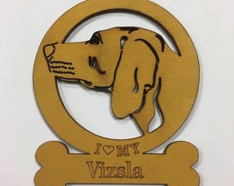 Vizsla Dog Ornament