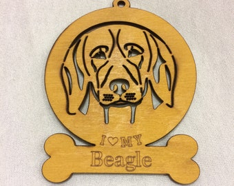 Beagle Dog Ornament