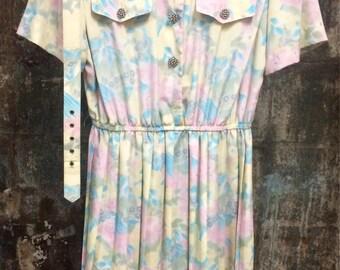 80s Vintage Dress